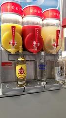 """food Standcatering auf der VisionSTR Messe Stuttgart  110 Liter Tropische Früchte, Erdbeer und Magarita, wahlweise mit Alkohol.  Was bieten wir dem Kunden: Granitor / Slusheis Maschine inkl Pult zur Herstellung von Magarita, Daiquiri und Limes und Slushei • <a style=""""font-size:0.8em;"""" href=""""http://www.flickr.com/photos/69233503@N08/15084864203/"""" target=""""_blank"""">View on Flickr</a>"""