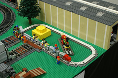 TexasCityMuseum_TrainFestival_2014-10 (SavaTheAggie) Tags: city railroad brick public festival museum club train layout track texas lego display diesel tracks engine trains steam locomotive lug ltc tbrr