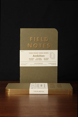 Ambition 3-Packs (2strokebuzz) Tags: stationery madeinusa notebooks fieldnotes datebook fieldnotesbrand memobooks