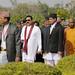President Mahinda Rajapaksa visits Lumbini