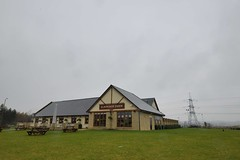 ELMWOOD FARM DINING & CAVERY, SWALLOWNEST, S YORKSHIRE_RAP9480 XRCb (Roger Perriss) Tags: grass restaurant pub eating meals pylon valley tables dining a57 riverrother carvery d600 swallownest elmwoodfarm