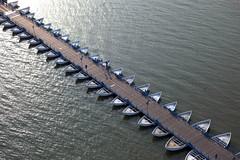 Il Ponte delle Barche - Delta del Po - Polesine (Portale Turismo del Veneto) Tags: bridge lagoon po veneto rovigo deltadelpo polesine