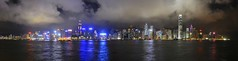 Hong Kong island by night - panorama (the.bryce) Tags: night hongkong victoriaharbour hongkongbay