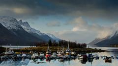 Ersfjordbotn, Kvaloya, Norway (Digidiverdave) Tags: winter norway landscape norge nord tromso nordlys davidhenshaw nikond7000