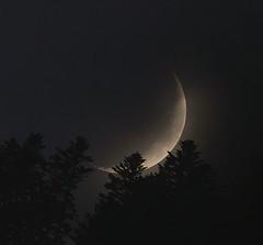 coucher lune