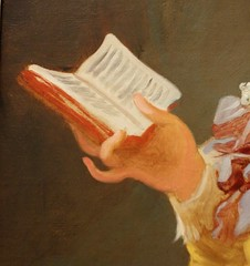 Young Girl Reading, ca.1770 (detail) (ktmqi) Tags: girl book read 18thcentury nationalgalleryofart frenchart younggirlreading jeanhonorfragonard
