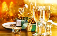 Happy New Year 2015 Champaign Glasses Gifts Wallpaper - Stylish HD Wallpapers (StylishHDwallpapers) Tags: cards happy glasses holidays festivals newyear celebration gifts champaign greetings newyear2015