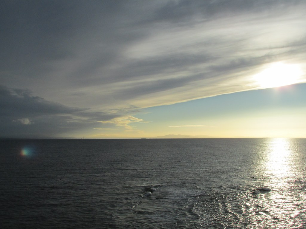 Amazing cloud formation and sea - Pittenweem, Fife, Scotland