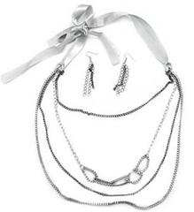 5th Avenue Silver Necklace P2210A-5