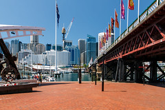 Darling Harbour, Sydney (andrew52010) Tags: sydney nsw newsouthwales darlingharbour sydneyharbour pyrmontbridge centrepointtower kingstreetwharf