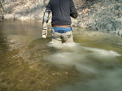 IM000426 (hymerwaders) Tags: new wet muddy waders matsch nass watstiefel