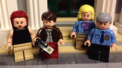 Some Spider-Man characters! (AndersonBrothers) Tags: george lego jane stacy mary spiderman peter watson captain superheroes marvel gwen parker afol minifigures
