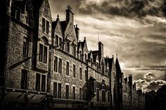 St Mary's Street, Edinburgh (Colin Myers Photography) Tags: street old white black saint st dark mono scotland town edinburgh moody mary stmary atmospheric edinburghmono stmarystreetedinburgh saintmaryedinburgh scottishmoodyplaces