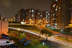 Algo se va algo se queda. (Juangs94) Tags: luz ventana noche nikon bogotá ciudad balcon nigth fotografía alsacia