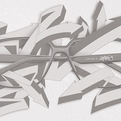 Herr Menig Optik - Graffiti (Detail) (Philipp Zurmoehle) Tags: wild illustration germany graffiti glasses frames ad illustrations style german styles campaign nürnberg optician eyewear wildstyle 2014 optik herrmenig herrmenigoptik