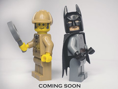The Detective.. And The World's Greatest Detective (mortified_penguin) Tags: lego batman minifigs minifigures toyphotography lego365
