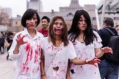 TorontoZombie Walk 2014 (Ping Foo) Tags: square costume nathan philips undead zombiewalk torontozombiewalk tzw