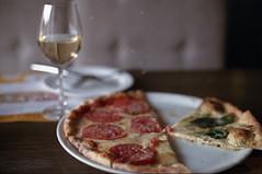 Pizza & Wine (tuyddatygl) Tags: food film italian soft wine pizza kiev fujicolorsuperiaxtra400 ilmolino