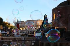 Colosseo (Serena Strano) Tags: travel italy roma bubbles lazio colosseo bolle