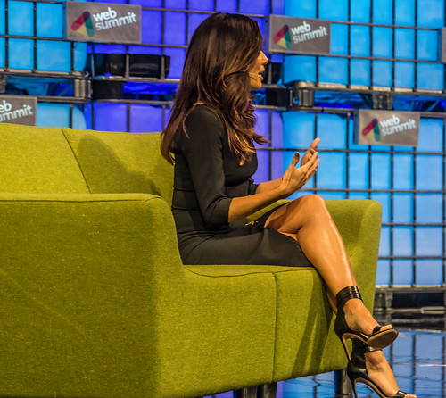 Desperate Housewives Actress Eva Longoria At Web Summit 2014Ref-1019