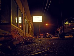 Rainy Loney (MTSOfan) Tags: street philadelphia jan janice ps sidewalk nighttime pointandshoot pizzashop