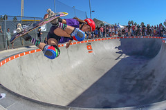 Arianna Carmona at 2014 Exposure Womens Comp (SteveWillard) Tags: california pool canon skateboarding sandiego wideangle fisheye socal skatepark independent pools 7d skateboard extremesports southerncalifornia bowls encinitas helmets sandiegocounty goldenstate skatergirl 92024 surfandskate backsideair triple8 frontsidegrind canonef15mmfisheye eos7d stevewillard womenskateboarding magdalenaeckefamilyymca canon7dmarkii ariannacarmona 9128b002 encinitasymcaskatepark