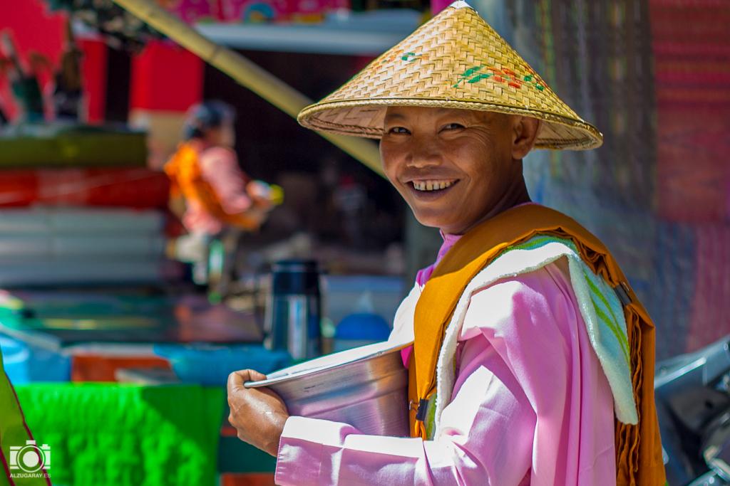 Monjas en Myanmar
