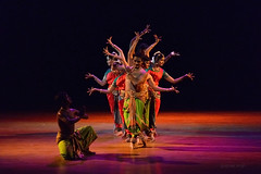 bharatnatyam (gurpreet_singh.) Tags: show music colors dance hands colours stage indian prayer performance formation classical form performers bharatnatyam