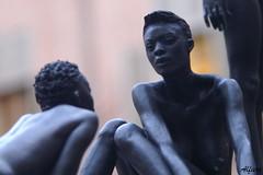 Giuseppe Bergomi (photoalfiero) Tags: italy sculpture art torino arte streetphotography piemonte onthestreet scultura operadarte giuseppebergomi perlevieditorino lestradeparlanoimuriurlano