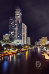 Fort Lauderdale (Dmitry Chernomazov) Tags: city light urban night canal downtown unitedstates florida coastal fortlauderdale