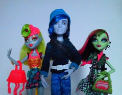Manster and Ghouls (Just a Nobody) Tags: monster high doll dream barbie scene simba fashiondoll fairys mattel