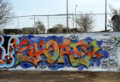 graffiti amsterdam (wojofoto) Tags: amsterdam graffiti wojofoto ndsm wolfgangjosten nederland netherland holland
