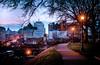 Sundown Walk (Sky Noir) Tags: skyline virginia downtown richmond va vcu skynoir