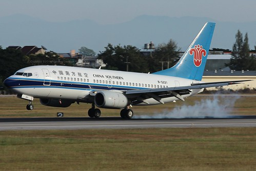 B-5221 China Southern Airlines Boeing 737-71B @Chiang Mai International Airport (CNX/VTCC)