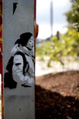 Yatzy (motveggen) Tags: streetart stencil bergen yatzy portrett gatekunst kvinne menneske streetartbergen