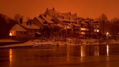 Winter in Regensburg (Google-Hupf) Tags: winter regensburg hdr donau nachtaufnahmen