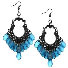 Glimpse of Malibu Blue Earrings P5712-1