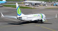 Transavia Airlines Boeing 737-8K2 PH-HSE (Mark 1991) Tags: amsterdam boeing schiphol ams transavia 737 schipholairport 737800 amsterdamairport amsterdamschiphol amsterdamschipholairport transaviaairlines phhse