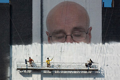 Building Painters (Leo Reynolds) Tags: webthing photofunia xleol30x