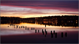 Lake Washington sunset