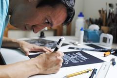 Lettering work (Ivan Jerônimo) Tags: pen chalk florianópolis lettering chalkboard visual blackboard ilustração giz painel letras comunicação 黒板 posca quadronegro letreiro ブラジル hidrocor レタリング ポスカ
