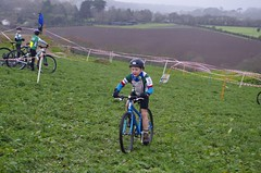 South West Cyclo-Cross League Round 11, Falmouth Bike Park, Dec-2014