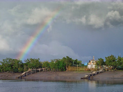 Rainbow over Dobanki (Kingshuk Mondal) Tags: rainbow kingshuk sundarban sundarbannationalpark kingshukmondal
