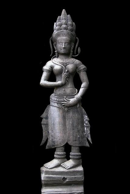 Cambodia - Ta Prohm Temple - Devata - 06b