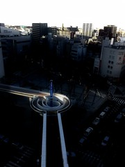 Sonic City (lesliegill) Tags: sunset japan aerialview omiya iphone soniccity
