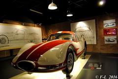 Fiat Turbina 1954 - Mauto Turin 2016 (Ferrari-live / Franck@F-L) Tags: fiat 1954 turin turbina 2016 mauto