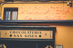 Madrid (LMT Photography) Tags: madrid voyage trip espaa outside spring san europe exterior eating chocolate abril wanderlust eat vida manger entrada april comer visiting desayuno avril fachada extrieur espagne chocolat churros entre gastronomie fuera dehors chocolateria cuidad gines chocolaterie