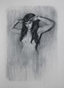Fugue 1 (mikecreighton) Tags: original portrait blackandwhite woman art film artwork experimental drawing circus aerial charcoal cinderella figurative fugue indiegogo