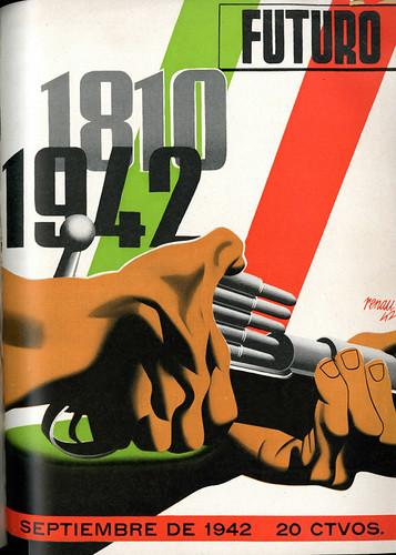 Portada de Josep Renau Berenguer para la Revista Futuro (septiembre de 1942)