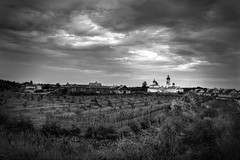 In the Russian province #2 (Unicorn.mod) Tags: bw monochrome lens september manual province pskov vilage landsape 2015 canoneos6d samyang24mmf14edasifumc